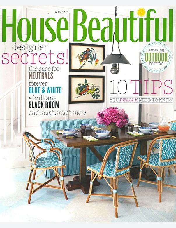 House Beautiful, May 2011
