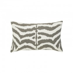 Zebra Gray Lumbar - This item will ship by 7/30