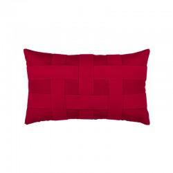 Basketweave Rouge Lumbar