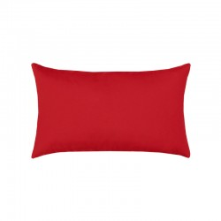 Canvas Jockey Red Essentials Lumbar Pillow