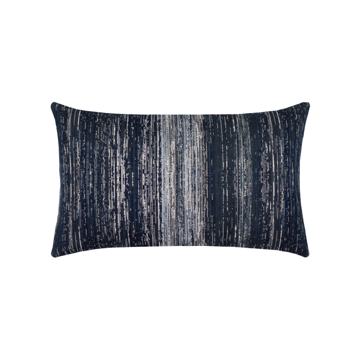 Back of Textured Indigo Lumbar