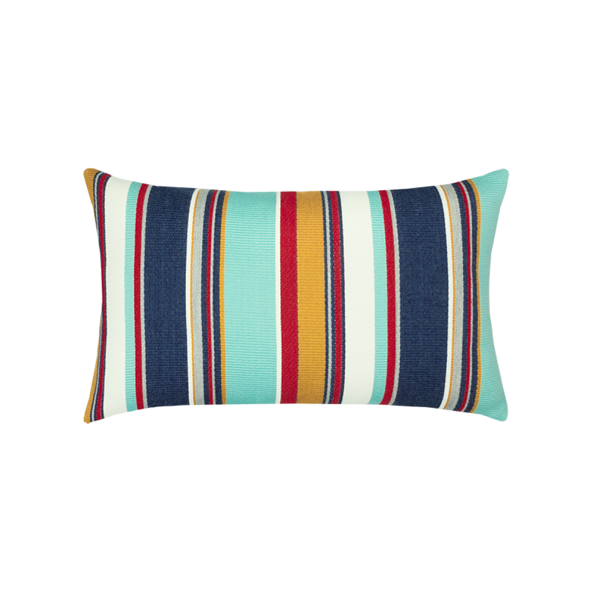 Back of Sicily Stripe Lumbar - This item will ship by 6/4