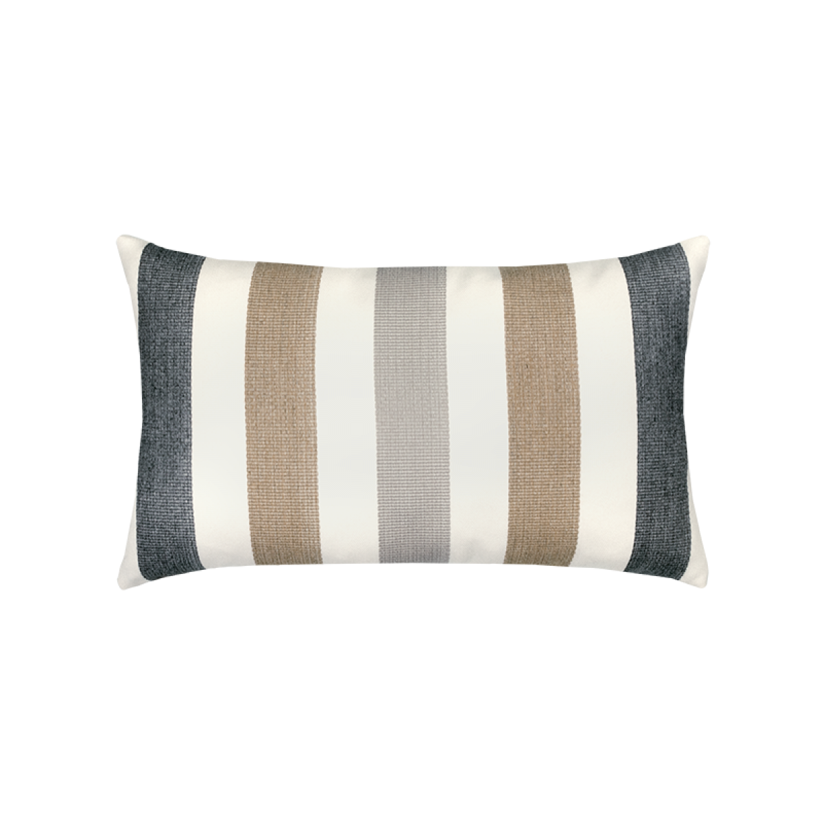 Back of Dune Stripe Lumbar - This item will ship by 5/28