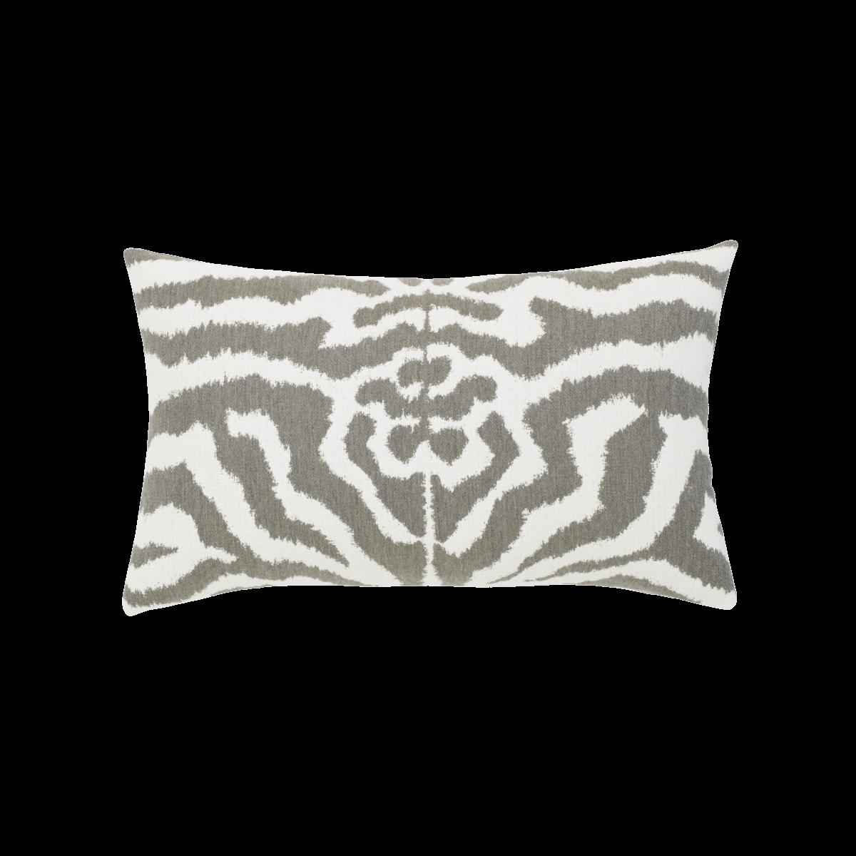 Back of Zebra Gray Lumbar