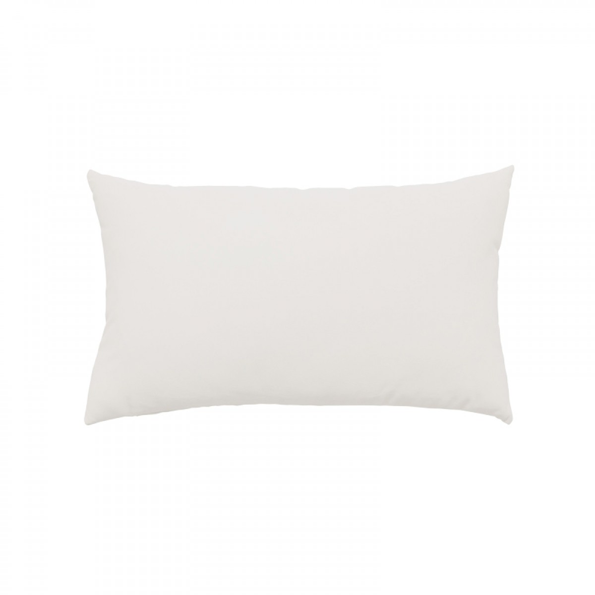 Back of Canvas Natural Essentials Lumbar Pillow