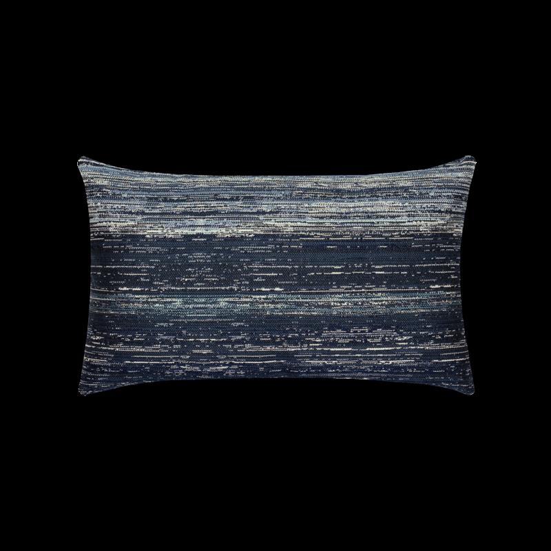 Textured Indigo Lumbar