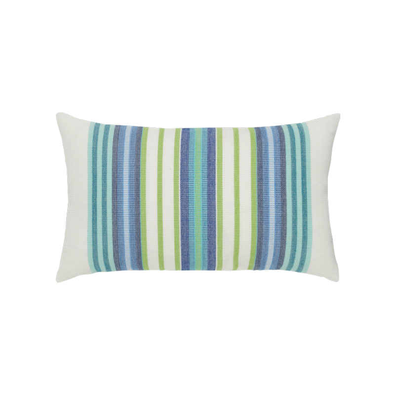 Summer Stripe Lumbar - This item will ship by 9/9