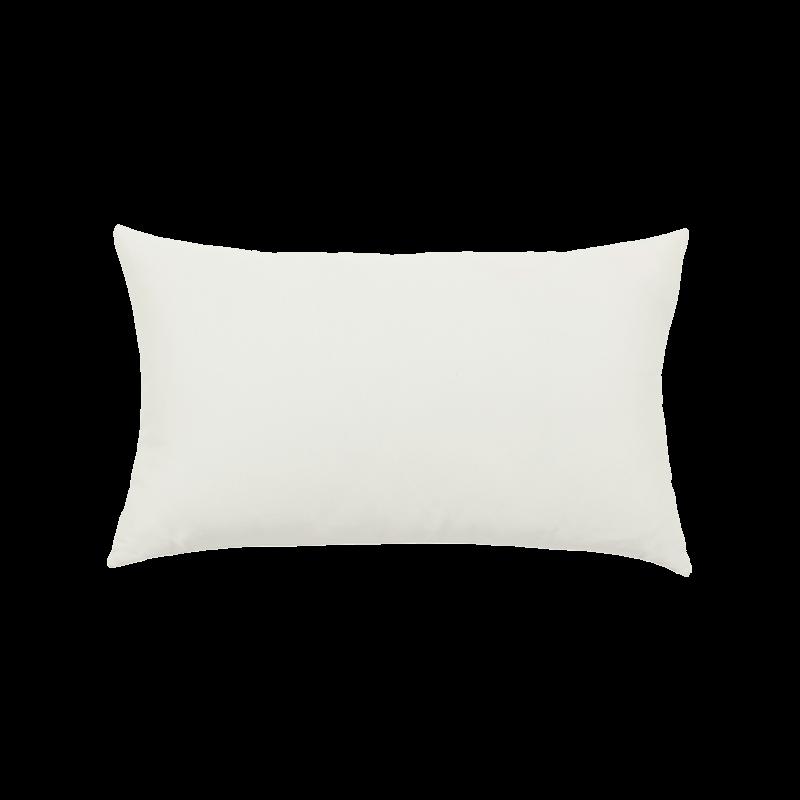 Canvas White Essentials Lumbar Pillow