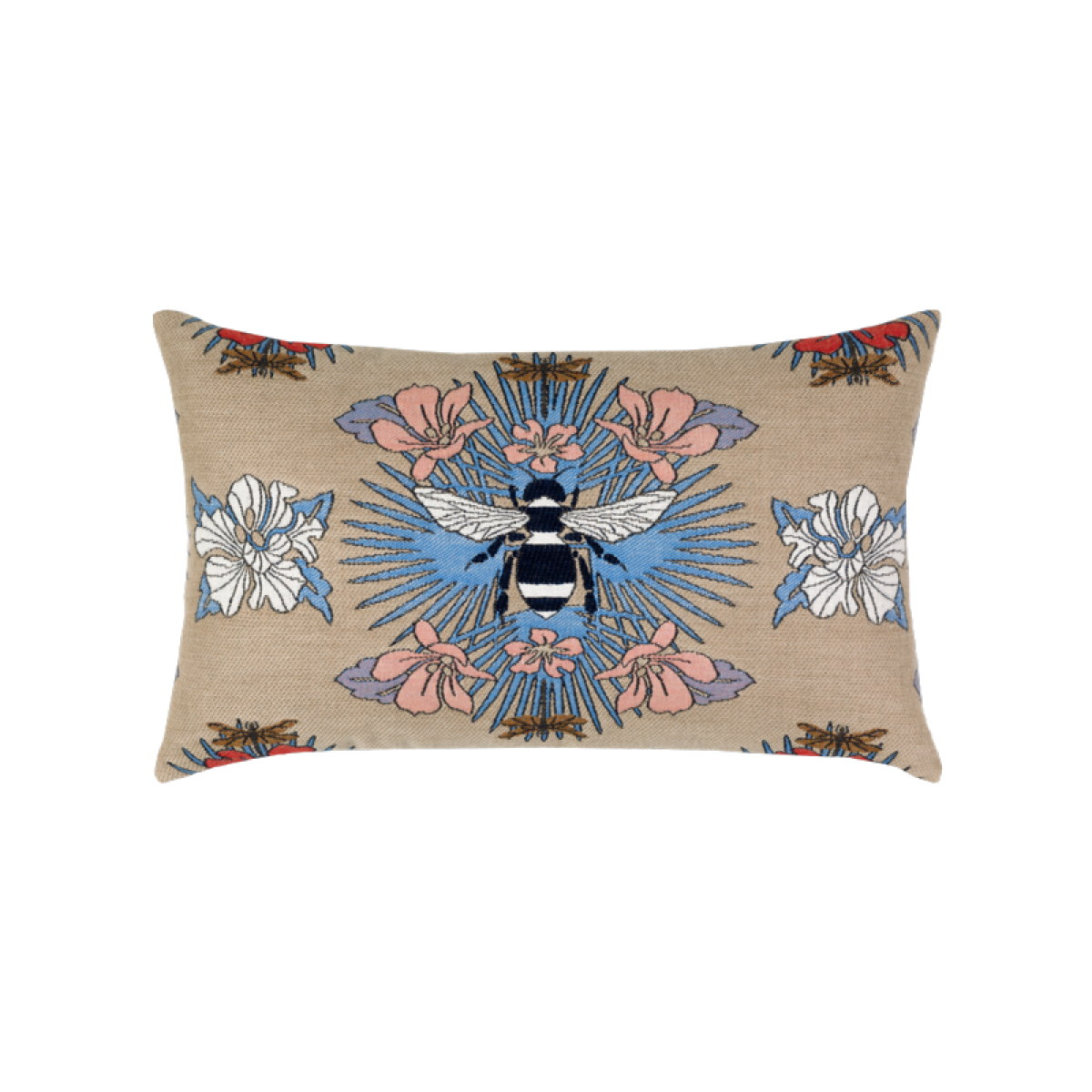 Tropical Bee Capri Lumbar