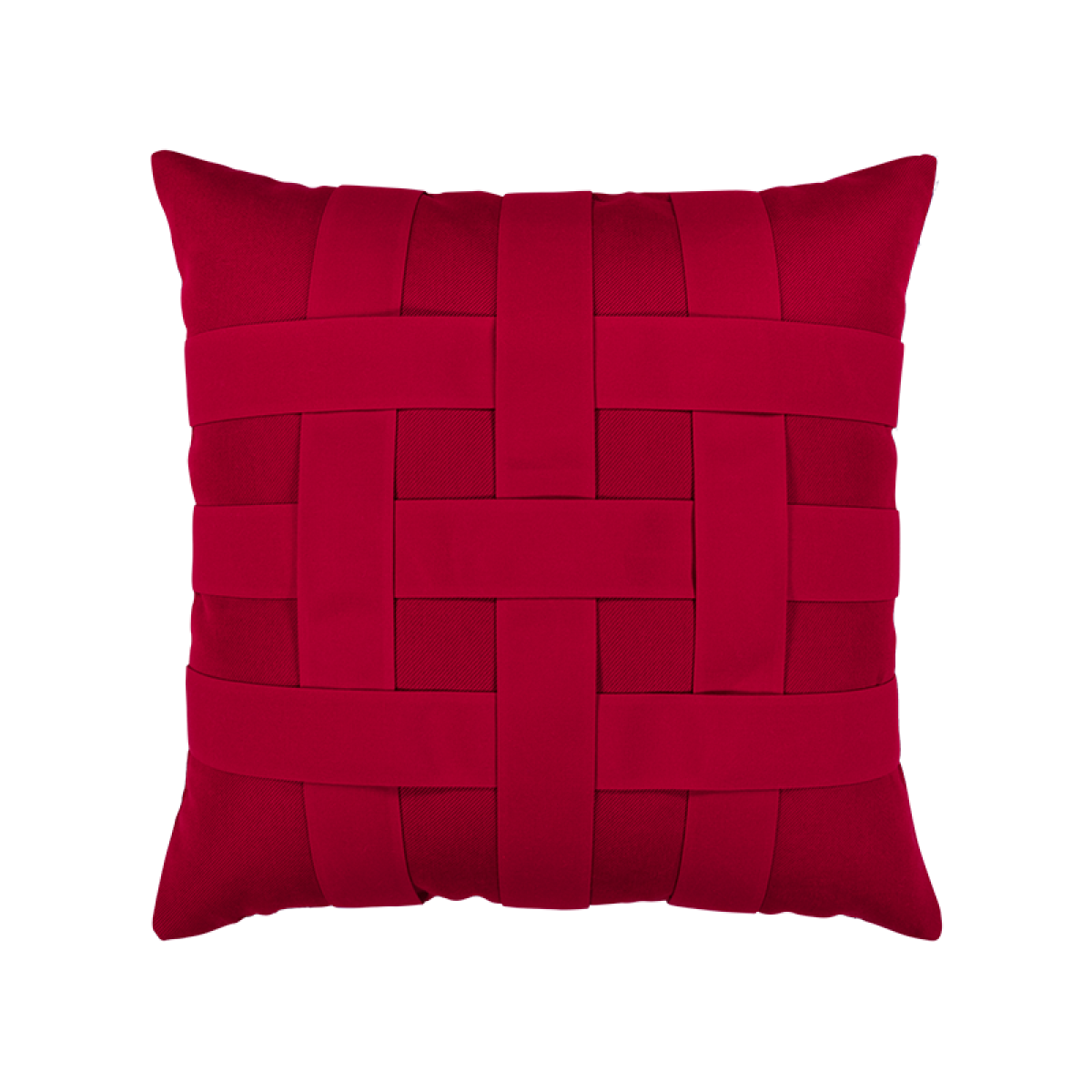 Basketweave Rouge