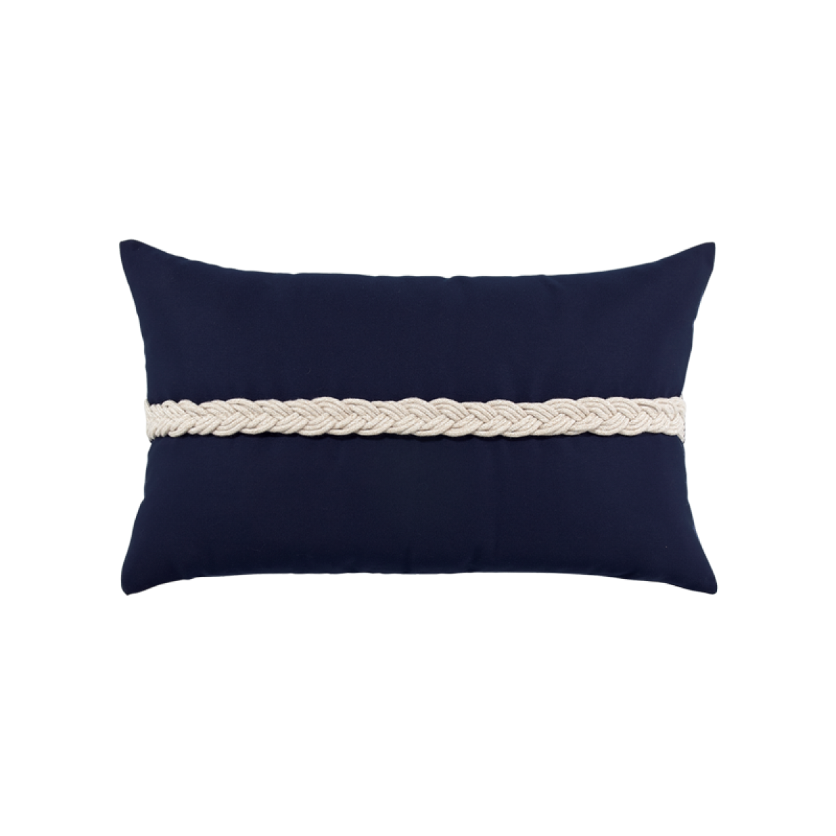 Navy Braided Lumbar - SALE 30% off - Limited Quantities Available