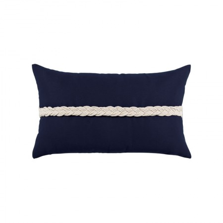 Braided Navy Lumbar