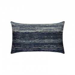 Textured Indigo Lumbar - This item will ship by 4/16