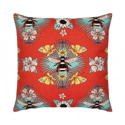 Tropical Bee Red