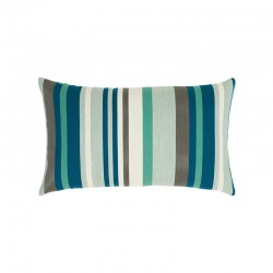 Lagoon Stripe Lumbar - This item will ship 3/19