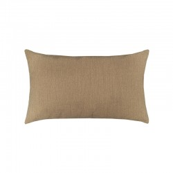 Canvas Heather Beige Essentials Lumbar Pillow