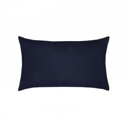 Canvas Navy Essentials Lumbar Pillow